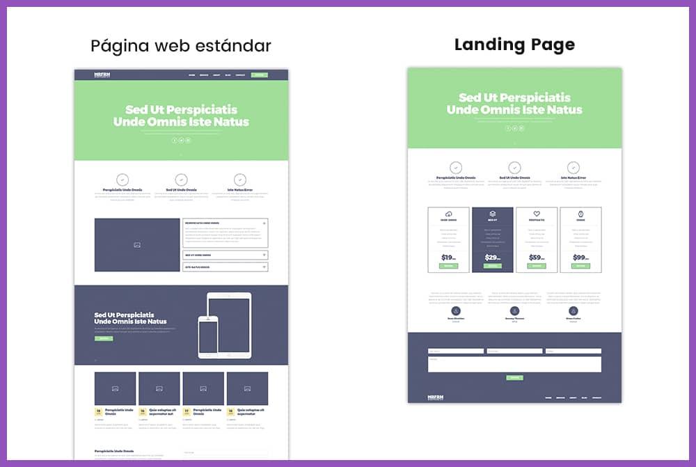 Qué es una Landing Page - Diccionario de Marketing Digital