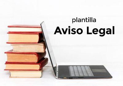 Plantilla del Aviso Legal
